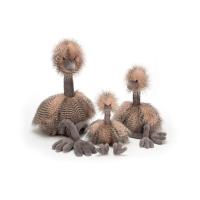 Odette Ostrich Really big (H92cm)