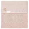 Babydecke Flanell Antwerp (75x100cm) - grey pink/grey pink
