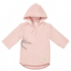 Baby Bademantel Dijon Organic, Shadow Pink, Gr. 62/68