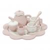 Holz-Tee-Set pink