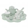 Holz-Tee-Set mint