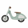 Holz Laufrad Roller mint